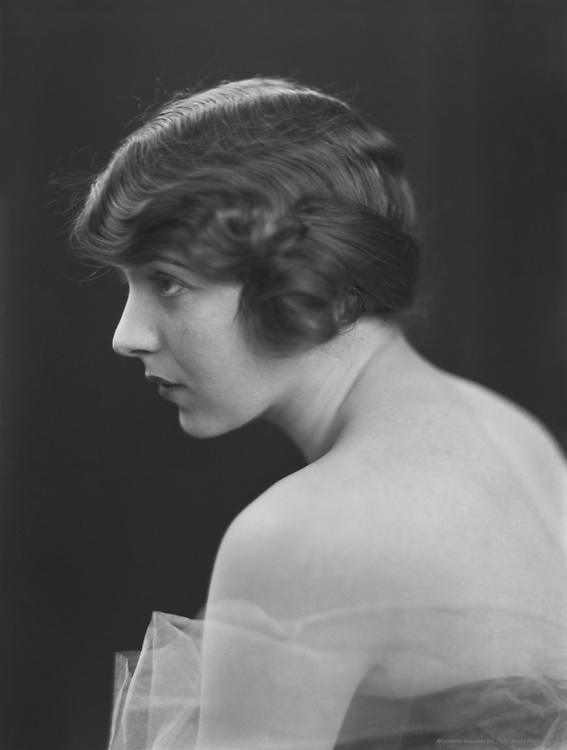 Ina Claire, stage and film actress,  1913