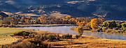 Fall on the Missouri River near Helena, Montana.