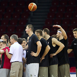 20100827: TUR, Basketball - 2010 FIBA World Championship, Practice of team Slovenia