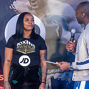 NLD/Rotterdam/20200224 - Stare down Boxing Influencers 2020, Vonneke Bonneke