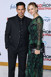 Los Angeles Premiere Of STX Entertainment's 'A Bad Moms Christmas' held at Regency Village Theatre on October 30, 2017 in Westwood, California. 30 Oct 2017 Pictured: Jay Hernandez, Daniella Deutscher. Photo credit: IPA/MEGA TheMegaAgency.com +1 888 505 6342
