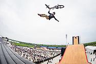 Morgan Wade during BMX Big Air Finals at 2019 X Games Shanghai in Shanghai, China. ©Brett Wilhelm/ESPN