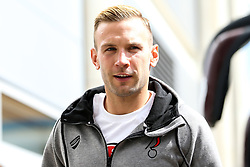 Andi Weimann of Bristol City arrives for the Sky Bet Championship fixture against Hull City - Mandatory by-line: Robbie Stephenson/JMP - 24/08/2019 - FOOTBALL - KCOM Stadium - Hull, England - Hull City v Bristol City - Sky Bet Championship