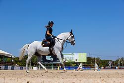 Van der Meerschen Nikita, BEL, Impressario van de Heffinck, v. Diabeau<br /> FEI Jumping European Championships for Young Riders, Juniors, Children - Vilamoura 2021<br /> © Hippo Foto - Leanjo de Koster<br /> 19/07/2021