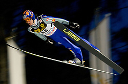 Peter Prevc (SLO) competes during Qualification round of the FIS Ski Jumping World Cup event of the 58th Four Hills ski jumping tournament, on January 5, 2010 in Bischofshofen, Austria. (Photo by Vid Ponikvar / Sportida)