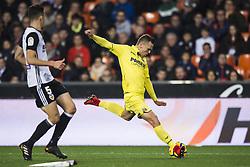 December 23, 2017 - Valencia, Spain - Cheryshev during the match between Valencia CF against Villarreal CF , week 17 of  La Liga 2017/18 at Mestalla stadium, Valencia, SPAIN - 17th December of 2017. (Credit Image: © Jose Breton/NurPhoto via ZUMA Press)