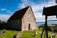 Norway, Inderøy. Sakshaug old church.