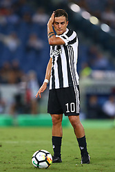 August 13, 2017 - Rome, Italy - Paulo Dybala of Juventus  during the Italian Supercup match between Juventus and SS Lazio at Stadio Olimpico on August 13, 2017 in Rome, Italy. (Credit Image: © Matteo Ciambelli/NurPhoto via ZUMA Press)