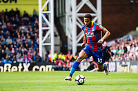 LONDON, ENGLAND - MAY 13: Andros Townsend (10) of Crystal Palace during the Premier League match between Crystal Palace and West Bromwich Albion at Selhurst Park on May 13, 2018 in London, England. MB Media