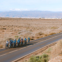 2021 Movistar Team Training Camp, Almería. 10.1.2021.