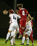 2011 FIFA Women's World Cup Qualifying match, Wales v Czech Republic at Stebonheath Park, Llanelli on Wed 23rd September 2009. pic by Andrew Orchard..