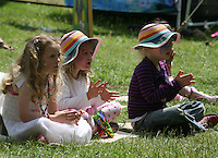 Kids field at the isle of wight pop festival
