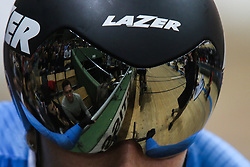 March 2, 2019 - Pruszkow, Poland - Letizia Paternoster (ITA)  competes in the Women's Madison on day four of the UCI Track Cycling World Championships held in the BGZ BNP Paribas Velodrome Arena on March 02 2019 in Pruszkow, Poland. (Credit Image: © Foto Olimpik/NurPhoto via ZUMA Press)