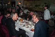 TONY BLAIR; KEVIN SPACEY; Chinese New Year dinner given by Sir David Tang. China Tang. Park Lane. London. 4 February 2013.