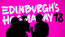 Launch of Edinburgh's Hogmanay programme 18 July 2017; Martin Green, Edinburgh's Hogmanay Executive Producer, gives an interview ahead of the launch for Edinburgh's Hogmanay festivities at Mansfield Traquair Centre, Edinburgh.<br /> <br /> (c) Chris McCluskie   Edinburgh Elite media