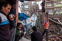 The Kathmandu Valley, home to 2.5 million people and seven World Heritage sites, was devastated by the April 2015 earthquake and its aftershocks. Nearly 9,000 people were killed, hundreds of thousands of homes destroyed, and many historic and religious sites flattened. In the months following the devastation, Nepal adopted a new constitution and formed a new government, but found itself in a dispute over the representation of an ethnic group on the Indian border, the Madhesis. Agitation in the Terai region and India's support of a blockade have severely reduced the flow of fuel, cooking gas, and essential supplies into Nepal, reversing the small gains made after the earthquake and plunging the country into an economic and political crisis.