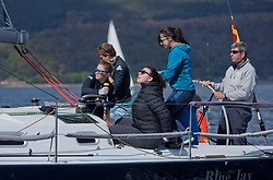 Pelle P Kip Regatta 2019 Day 1<br /> <br /> Light and bright conditions for the opening racing on the Clyde keelboat season<br /> GBR2068R, Blue Jay, John Stanley-Whyte, RNCYC, J109
