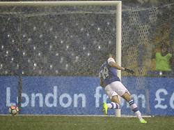 Sheffield Wednesday's Marco Matias scores his side's first goal of the game
