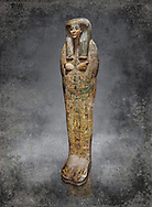 Ancient Egyptian sarcophagus, Thebes, Late 21st Dynasty, Egyptian Museum, Turin.