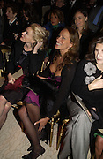 Daphne Guinness and Andrea Dellal. Valentino, Valentino couture show, Ecole Nationale Superiore des Beaux -Arts, rue Bonaparte. After party at the Ritz. 23 January  2006.  ONE TIME USE ONLY - DO NOT ARCHIVE  © Copyright Photograph by Dafydd Jones 66 Stockwell Park Rd. London SW9 0DA Tel 020 7733 0108 www.dafjones.com