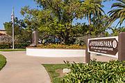 Veterans Park In Downtown San Juan Capistrano
