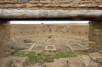Kiva at Casa Rinconada, Chaco Culture National Historical Park, New Mexico