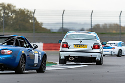 Adam Read pictured while competing in the 750 Motor Club's Birkett Six-Hour Relay. Picture taken at Silverstone on October 24, 2020 by 750 Motor Club photographer Jonathan Elsey