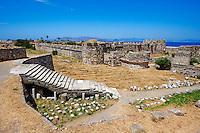 Grece, Dodecanese, ile de Kos, Chateau des Chevaliers // Greece, Dodecanese, Kos island, old town Castle