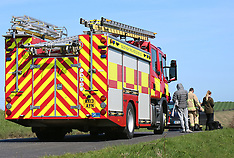 Suspect Car Fire  Brading