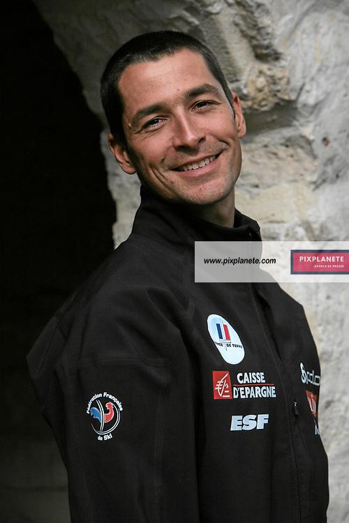 Alexandre Rousselet - Ski de fond - présentation de l'équipe de France de ski 2007-2008 - Photos exclusives - 9/10/2007 - JSB / PixPlanete