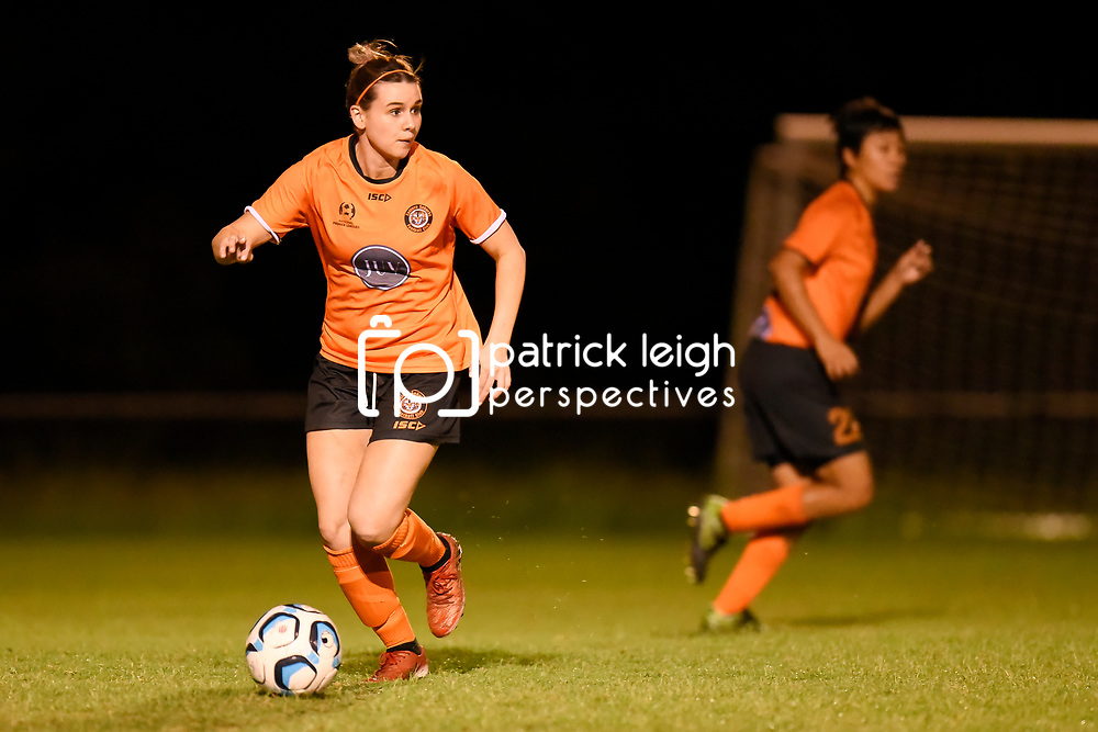 BRISBANE, AUSTRALIA - MARCH 10:  during the NPLW Senior Women's Round 6 match between Eastern Suburbs and Moreton Bay Jets on March 10, 2018 in Brisbane, Australia. (Photo by Eastern Suburbs / Patrick Kearney)