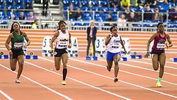 Millrose Games: high school girls 60m dash