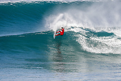 October 12, 2017 - Filipe Toledo of Brazil will surf in Round Two of the 2017 Quiksilver Pro France after placing second in Heat 7 of Round One at Hossegor. (Credit Image: © WSL via ZUMA Press)