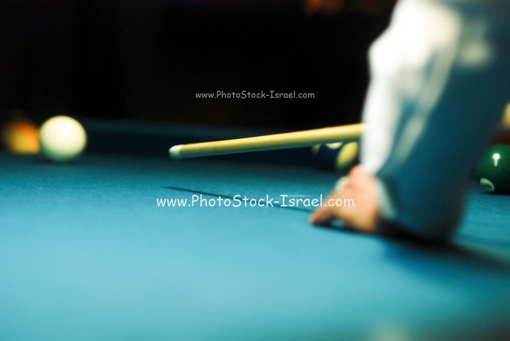 Billiard Table Selective focus