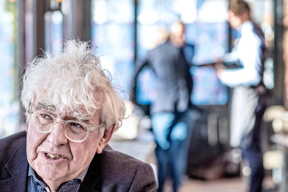 Netherlands. Leeuwarden, 08-11-2018. Photo: Patrick Post. Portret van Geert Mak.