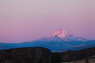 View of Mt. Hood from Highway 14 in Washington State