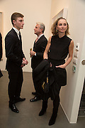 MANOUK MANOUKIAN; RAFFI MANOUKIAN;, JOANNE MANOUKIAN; , George Condo - private view . Simon Lee Gallery, 12 Berkeley Street, London, 10 February 2014
