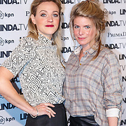 NLD/Amsterdam/20151026 - Lancering Linda TV, Loes Haverkort en Rosa Reuten
