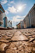 Cuba, Trinidad Colonial street