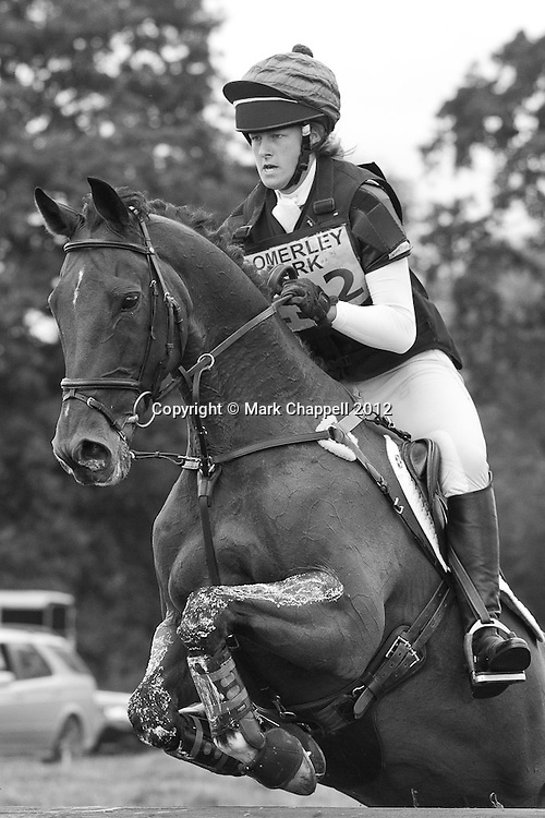 Somerley Park organised their second One Day  Event of the year at very short notice (three weeks) following the cancellation of Wilton HT due to poor ground conditions. Ringwood, UNITED KINGDOM. July 28 2012...Photo Credit: Mark Chappell.© Mark Chappell 2012. All Rights Reserved. See instructions.