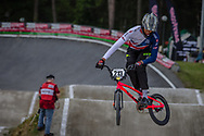 #213 (WHYTE Kye) GBR during round 4 of the 2017 UCI BMX  Supercross World Cup in Zolder, Belgium.
