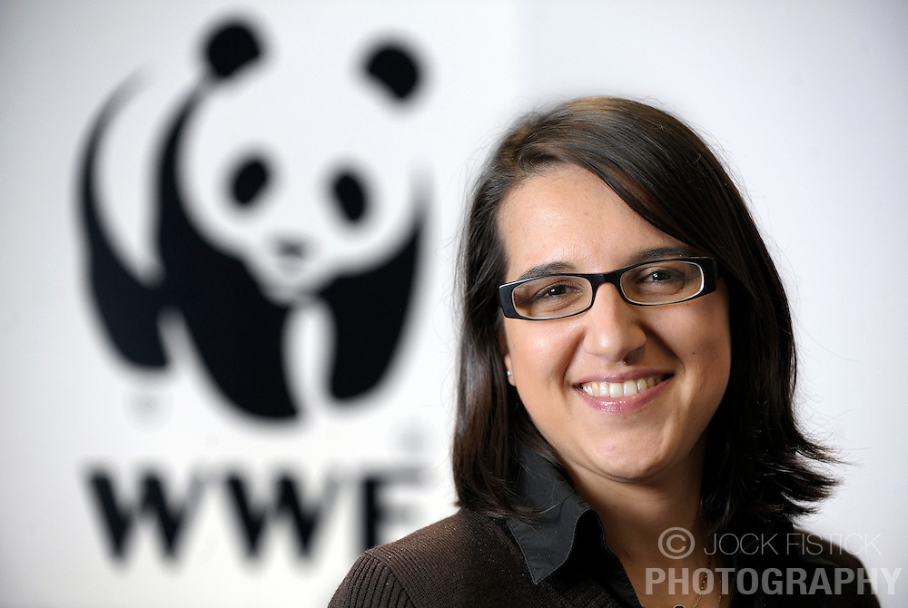 Mariangiola Fabbri, of the World Wildlife Foundation (WWF) at the organizations EU headquarters in Brussels, Belgium, Wednesday, Dec. 10, 2008. (Photo © Jock Fistick)