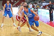 Danzica - Polonia 03 Agosto 2012 - TORNEO INTERNAZIONALE SOPOT CUP - Italia Lettonia<br /> Nella Foto : ANDREA CINCIARINI<br /> Foto Ciamillo
