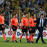 Fenerbahce's and Bursaspor's during their Turkish super league soccer match Fenerbahce between Bursaspor at the Sukru Saracaoglu stadium in Istanbul Turkey on Sunday 20 September 2015. Photo by Aykut AKICI/TURKPIX