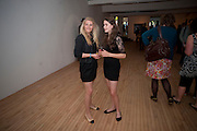 ELOISE EVANS; CHARLOTTE BELL, Crapula- exhibition of work by Henry Hudson. Hoxton Sq. Gallery. London. 3 June 2010. -DO NOT ARCHIVE-© Copyright Photograph by Dafydd Jones. 248 Clapham Rd. London SW9 0PZ. Tel 0207 820 0771. www.dafjones.com.