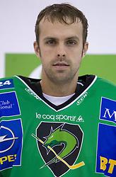 Goalkeeper Mike Morrison of HDD Tilia Olimpija before new season 2008/2009,  on September 17, 2008 in Arena Tivoli, Ljubljana, Slovenia. (Photo by Vid Ponikvar / Sportal Images)