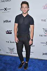 Kevin McHale arrives at Jessie Tyler Ferguson's 'Tie The Knot' 5 Year Anniversary celebration held at NeueHouse Hollywood in Los Angeles, CA on Thursday, October 12, 2017. (Photo By Sthanlee B. Mirador/Sipa USA)