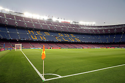 October 24, 2018 - Barcelona, Spain - BARCELONA, SPAIN, OCTOBER 24, 2018 - Genaral view of the Camp Nou stadium prior to the UEFA Champions League, Group B football match between FC Barcelona and FC Internazionale on October 24, 2018 at Camp Nou stadium in Barcelona, Spain (Credit Image: © Manuel Blondeau via ZUMA Wire)