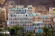 The Khailah Palace Hotel in Wadi Do'an, Hadhramawt, Yemen.