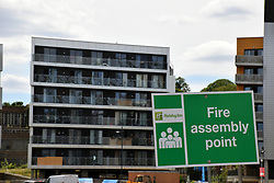 Broadland Housing's Brennan Bank, Norwich, is one of 60 high and mid-rise buildings across 25 local authority areas in England that the government said has failed safety tests in the wake of the Grenfall Tower disaster in London. June 2017 UK